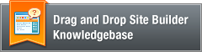 Drag and Drop Site Builder FAQ