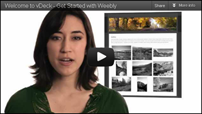 Design Your Site With Weebly